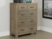 Seaview 5 Drawer Chest Driftwood