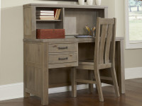 Seaview Desk & Hutch Driftwood