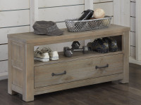 Seaview Dressing Bench Driftwood