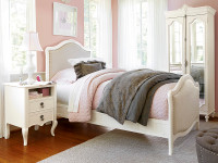 Genevieve Upholstered Bed (Twin)