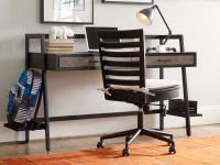 Catalina Swivel Desk Chair - Dark
