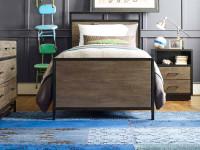 Catalina Panel Bed - Dark