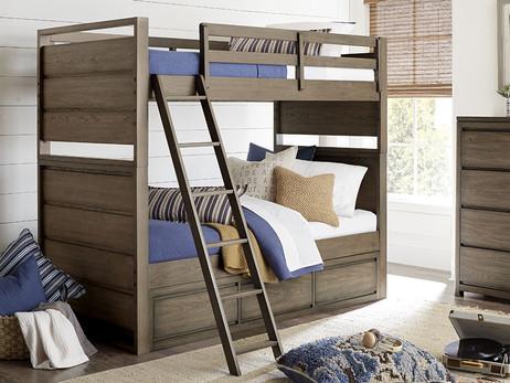 Skyline Twin over Twin Bunk Bed - Bedroom Source - Kids Furniture