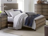 Skyline Fabric Headboard Bed, Full