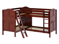 High Corner Bunk w/ Ladders