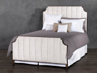 Spencer Upholstered Iron Bed