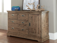 Cambridge 4 Drawer Dresser with Door