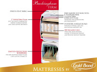 Gold Bond Buckingham Firm Mattress