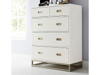 Gramercy Park 5 Drawer Chest (2 over 3)