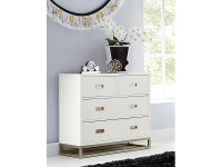 Gramercy Park 4 Drawer Chest (2 over 2)