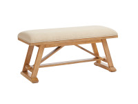 Chelsea Square Bed End Bench - French Toast