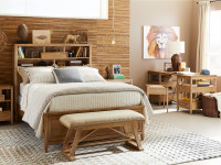 Chelsea Square Storage Bed Full - French Toast