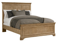 Chelsea Square Panel Bed Queen - French Toast