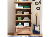 Chelsea Square Bookcase - French Toast