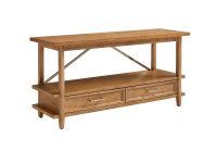 Chelsea Square Low Bookcase - French Toast