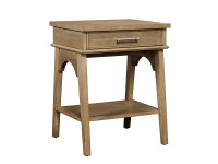 Chelsea Square Bedside Table - French Toast