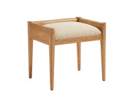 Chelsea Square Modern Desk Stool - French Toast