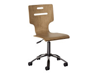 Chelsea Square Desk Chair - French Toast