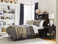 Chelsea Square Storage Bed Full - Raisin
