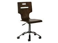Chelsea Square Desk Chair - Raisin