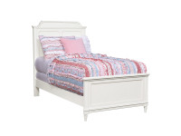 Clementine Court Panel Bed Twin - Frosting