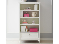 Clementine Court Bookcase - Frosting