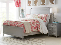 Clementine Court Panel Bed Queen - Spoon