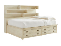 Driftwood Park Storage Bed Full - Vanilla Oak