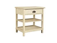 Driftwood Park Bedside Table - Vanilla Oak