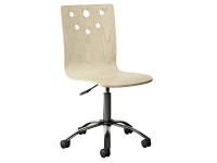 Driftwood Park Desk Chair - Vanilla Oak