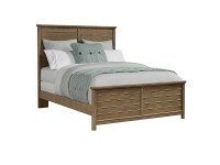 Driftwood Park Panel Bed Queen - Sunflower Seed