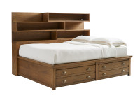 Driftwood Park Storage Bed Full - Sunflower Seed