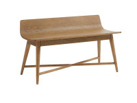 Driftwood Park Bed End Bench - Sunflower Seed