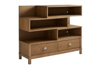 Driftwood Park Low Bookcase - Sunflower Seed