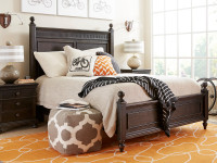 Smiling Hill Panel Bed Queen - Licorice