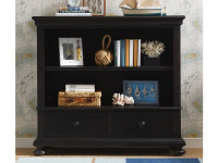 Smiling Hill Low Bookcase - Licorice