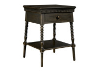 Smiling Hill Bedside Table - Licorice