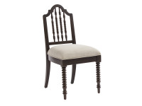 Smiling Hill Spool Desk Chair - Licorice