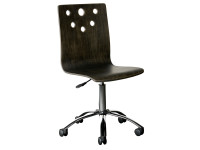 Smiling Hill Desk Chair - Licorice