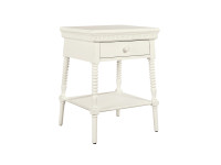 Smiling Hill Bedside Table - Marshmallow