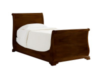 Teaberry Lane Sleigh Bed Twin - Midnight Cherry