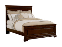 Teaberry Lane Panel Bed Queen - Midnight Cherry