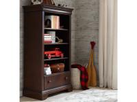 Teaberry Lane Bookcase - Midnight Cherry