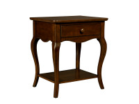 Teaberry Lane Bedside Table - Midnight Cherry