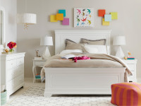 Teaberry Lane Panel Bed Queen - Stardust