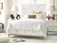 Tribecca Panel Bed with Storage Footboard, Full