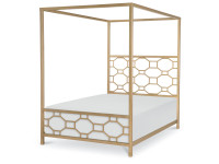Tribecca Metal Canopy Bed, Full