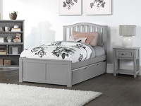 Valley 2.0 Arch Spindle Bed w/Low Footboard, Full