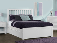 Valley 2.0 Mission Bed w/Low Footboard, Full