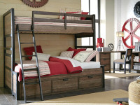 Sullivan County Bunk Bed, Twin/Full